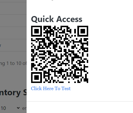 Inventory QR Code Management